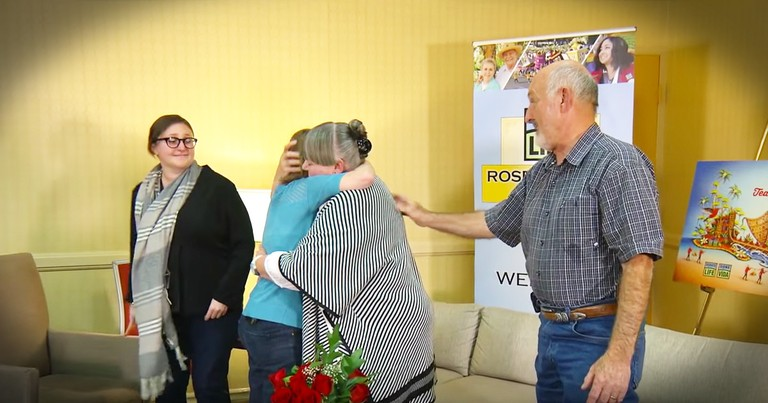 After 22 Years She's Meeting The Family Of The Boy Who Saved Her Life