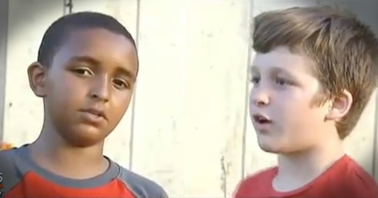2 Young Boys Run Into Burning House To Save Children Inside