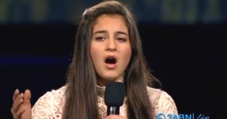 Teen Delivers Powerful Message With Seldom Sung 4th Verse Of National Anthem