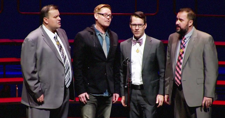 Barbershop Quartet Stuns With 'It Is Well With My Soul'