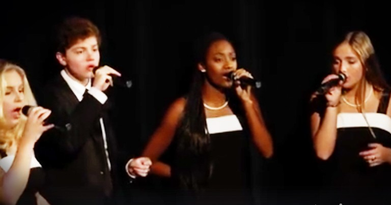 High School Chorus Wows With A Cappella 'I Need Thee Every Hour'