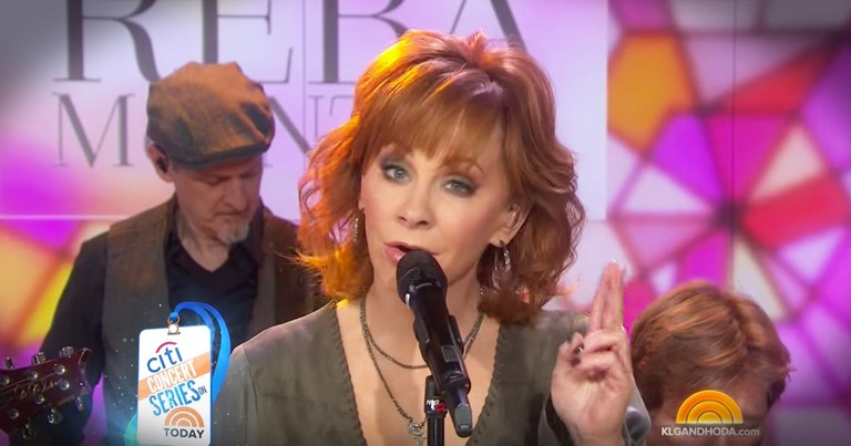 Reba Talks Her New Album, Faith And Sings Her New Song 'God and My Girlfriends'