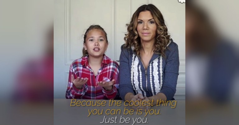 Mom And Daughter Drop A Truth Bomb About Being Yourself