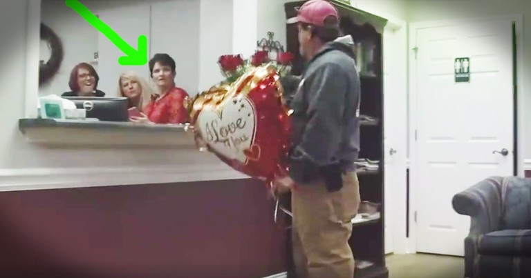 Momma Gets The Surprise Of A Lifetime From Her Husband And 3 Grown Boys