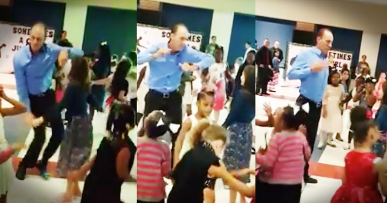 Dad Goes Viral For Bustin' Some Serious Moves At The Father-Daughter Dance