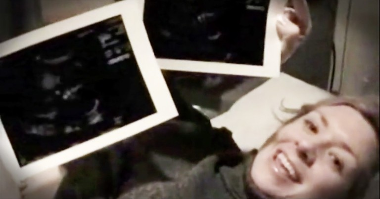 Doctor Told Mom To Turn Off The Camera During Her Ultrasound, But Just Look At Their Baby Now