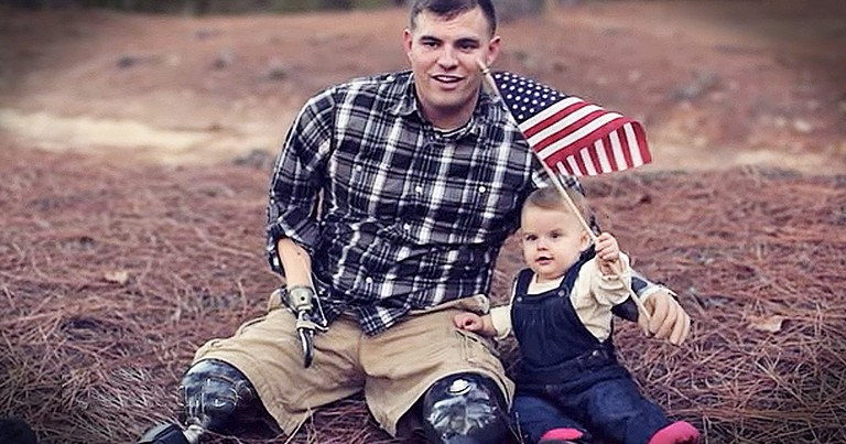 Unlikely Stranger Helps Quadruple Amputee Veteran Find His Purpose Again