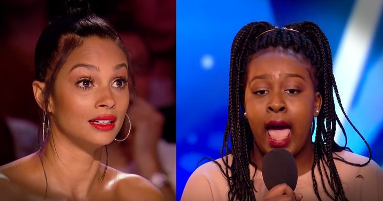 15-Year-Old's Huge Voice And An Impossible Song Stuns The Judges