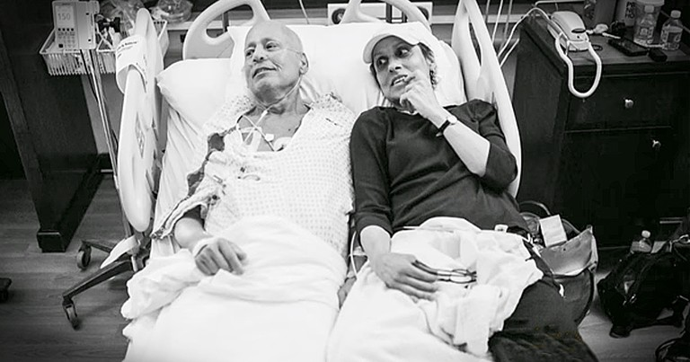 Daughter Captures Heartbreaking Images Of Parents Battling Cancer Together