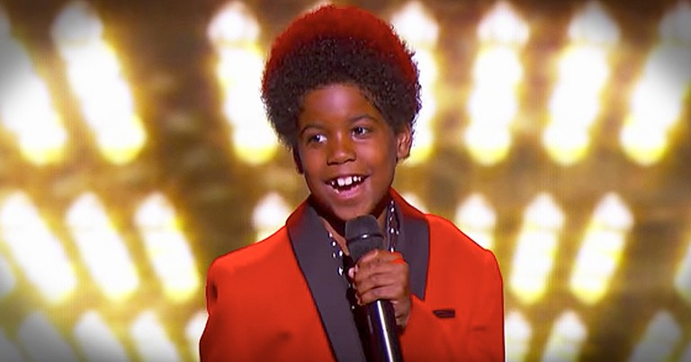 Little Boy With A Big Voice Takes It Way Back With 'One More Chance'