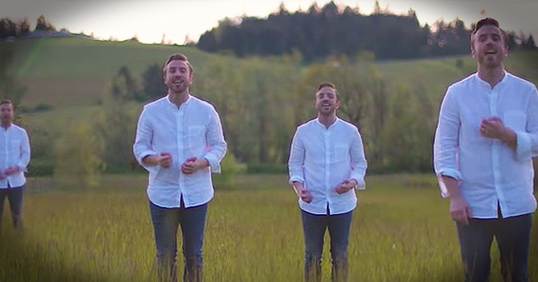 Peter Hollens Performs A Cappella 'Circle Of Life'