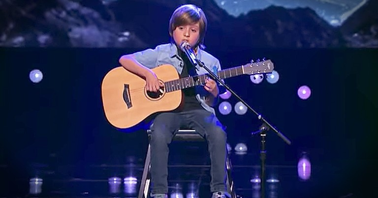 8-Year-Old Guitarist Performs Stunning Rendition Of 'Blackbird'