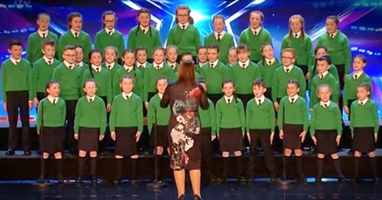Children's Choir Hit Just The Right Notes With Their Talented Audition