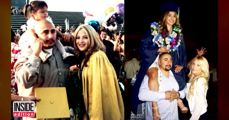 Teen Honors Her Mom In Emotional Graduation Photo