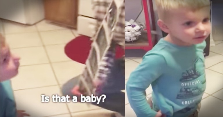 Kid Is Hilariously Honest About Mom's Pregnancy News