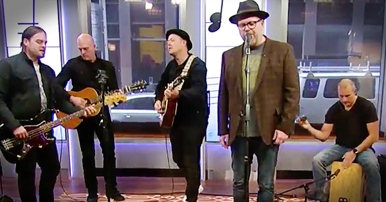 MercyMe Performs 'Even If' On Live TV