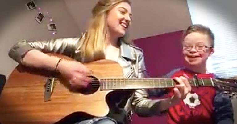 Girl Writes Sweet Song For Brother With Down Syndrome