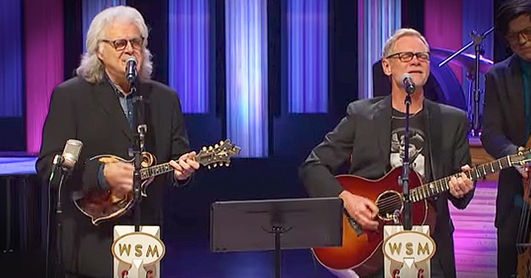 Steven Curtis Chapman And Ricky Skaggs Sing 'What A Friend We Have In Jesus'
