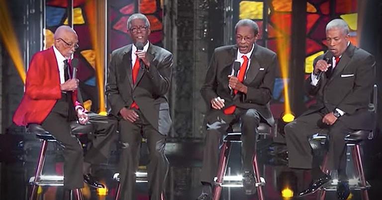103-Year-Old Gospel Singers Worship On TV