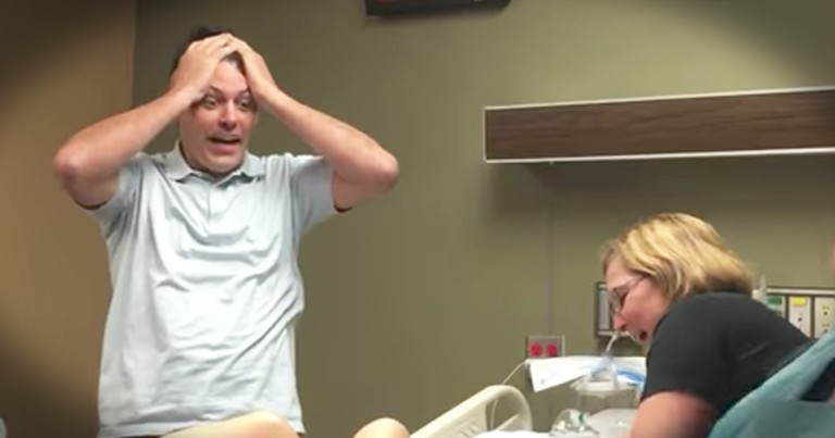 Dad Of Three Daughters' Funny Reaction To News Of A Son