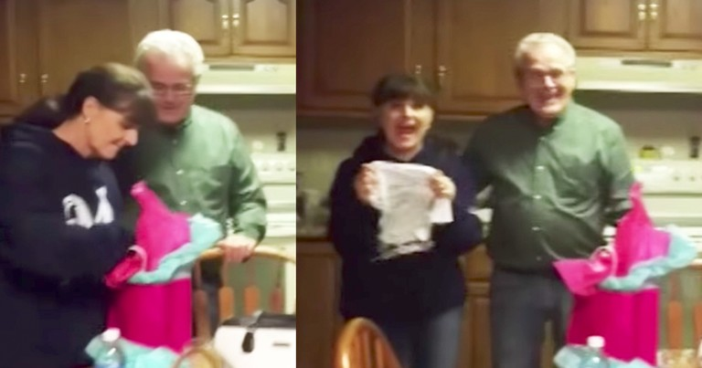 Grandma's Amazing Reaction To Daughters Pregnancy Reveal