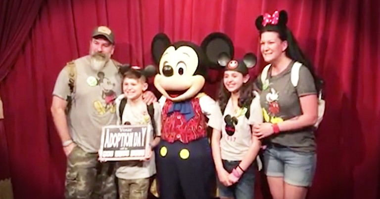 Mikey Mouse Helps In Adoption Announcement