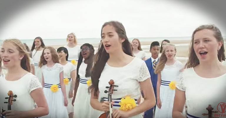 """Powerful Performance By One Voice Children's Choir Of """"When You Believe"""""""
