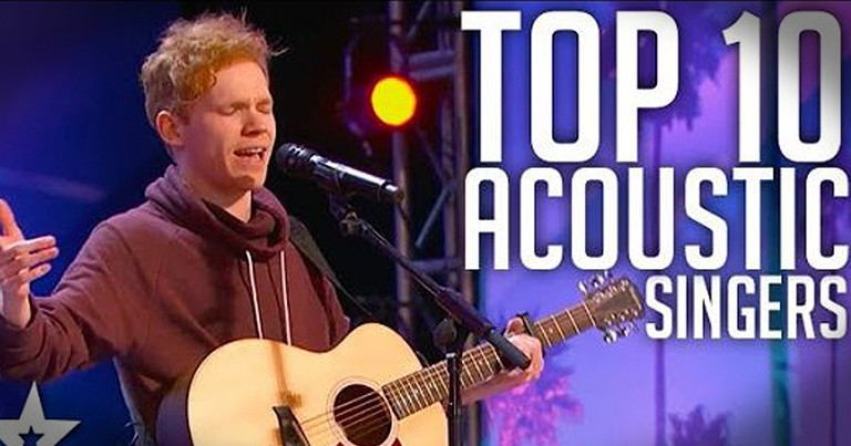10 Best Male Acoustic Auditions From Talent Shows