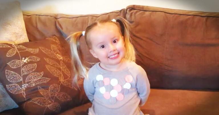 Genius 3-Year-Old Girl Recites The Periodic Table