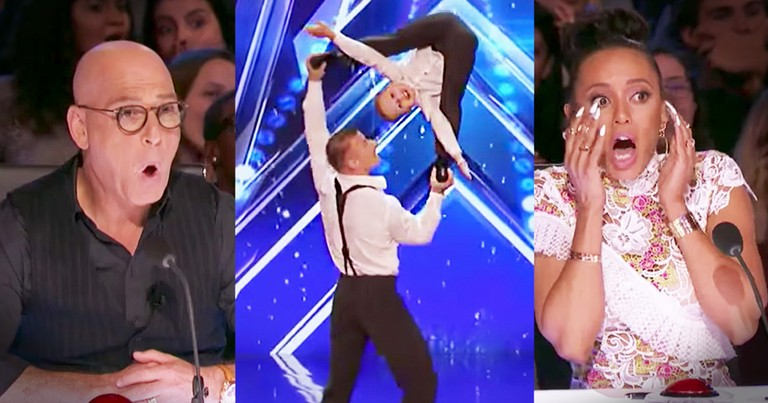 Acrobatic Father And Son Flip Their Way Into Judges' Hearts