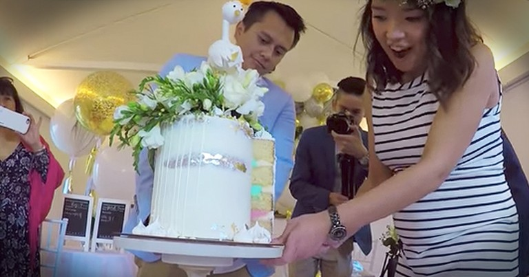 Couple Shares Triple Surprise Gender Reveal After Infertility