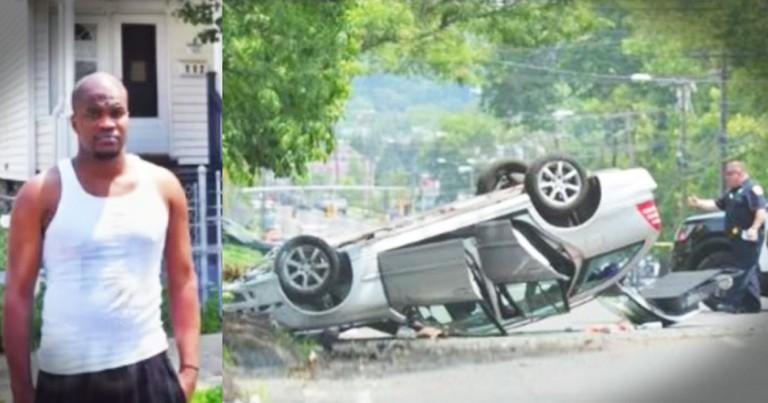 Man Skips Job Interview To Save Car Crash Victim