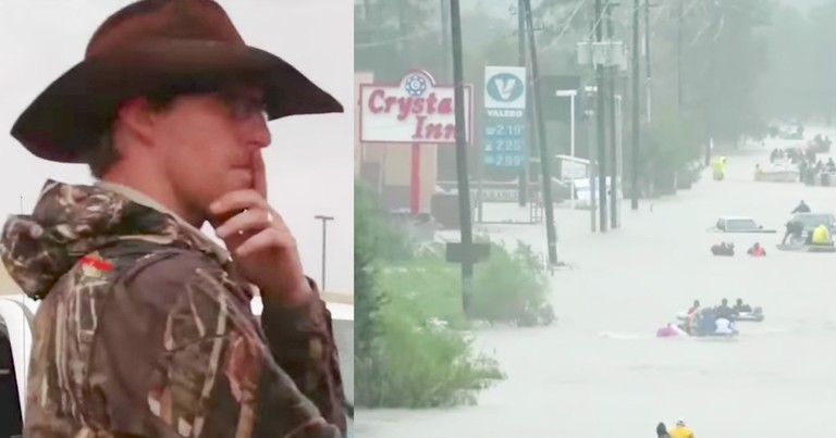God Calls 3 Brave Men To Help Stranded Hurricane Victims