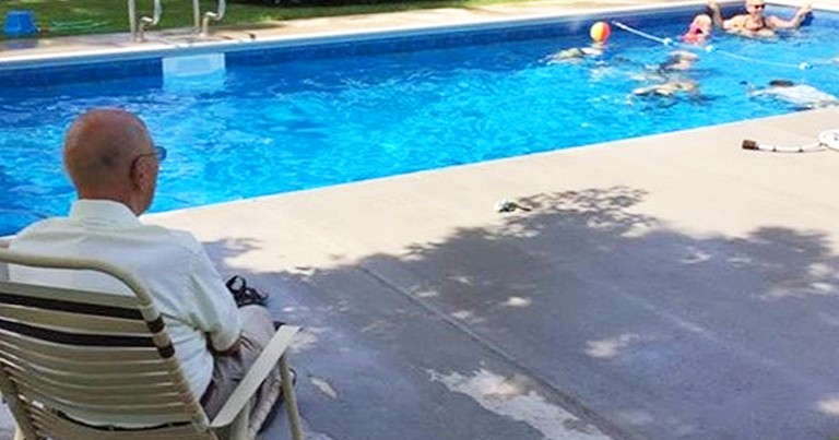 94-Year-Old Widower Builds Backyard Pool For Neighborhood Kids