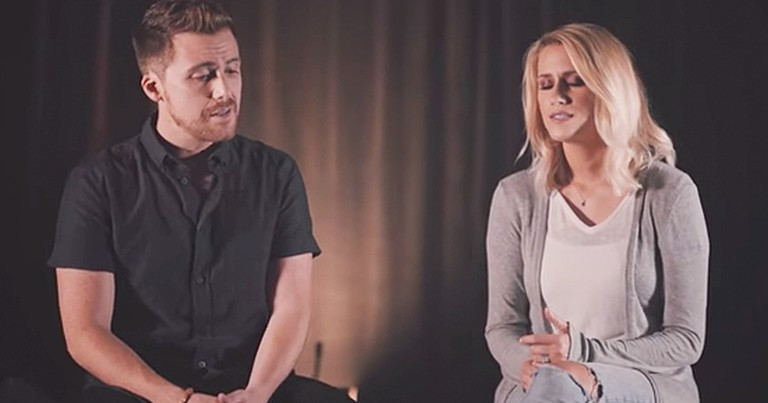Couple Sings Beautiful Medley Of '10,000 Reasons' And 'What A Beautiful Name'