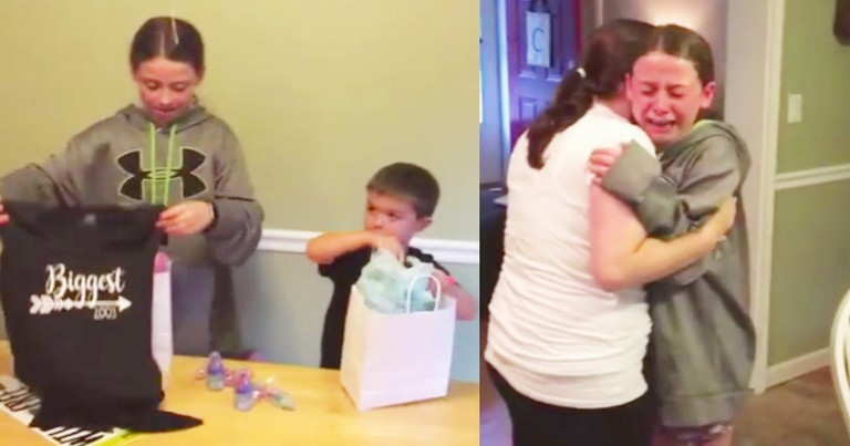 13-Year-Old Girl Sobs After Discovering Mom Is Pregnant