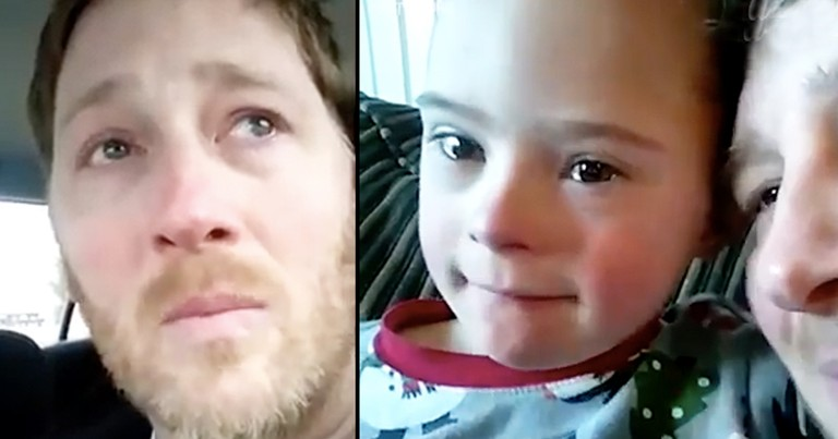 Emotional Dad Gives Speech About Downs Syndrome