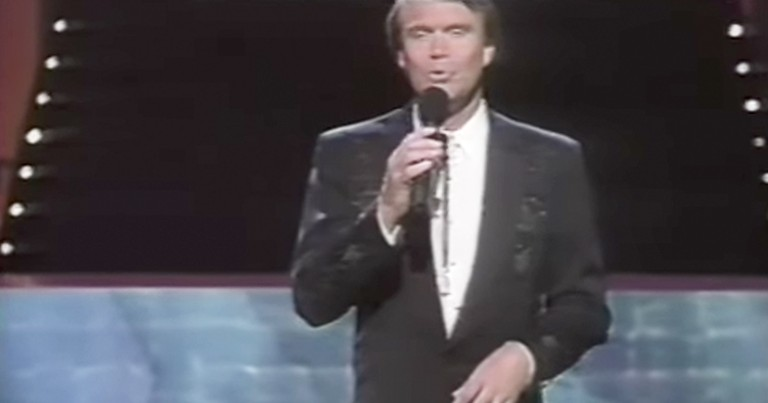 Throwback Of Glen Campbell Performing 'Jesus And Me' Live