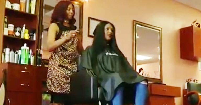 God Leads Hairstylist To Help Homeless Women Feel Beautiful