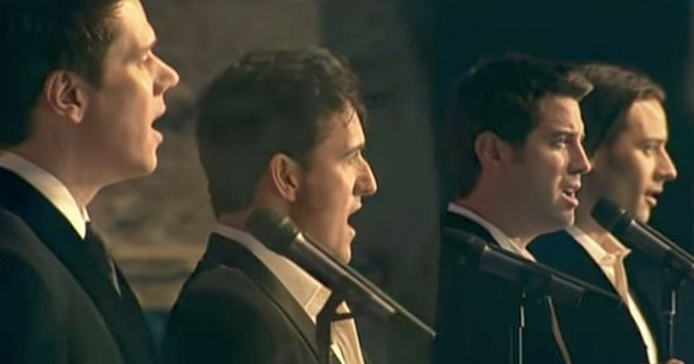 4 Men Perform Breathtaking Version Of 'Amazing Grace'