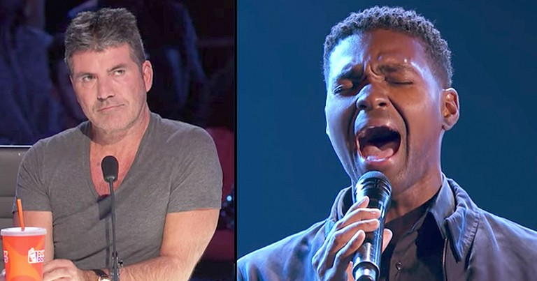 Singers Breathtaking Stevie Wonder Cover Earns Him A Golden Buzzer
