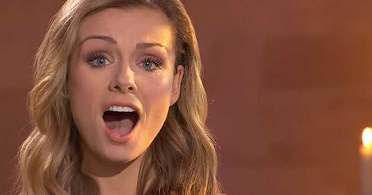 Talented Opera Singer Katherine Jenkins Belts Out 'Jerusalem'