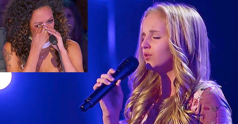 Talented 13-Year-Old Dedicates Song To Dying Father