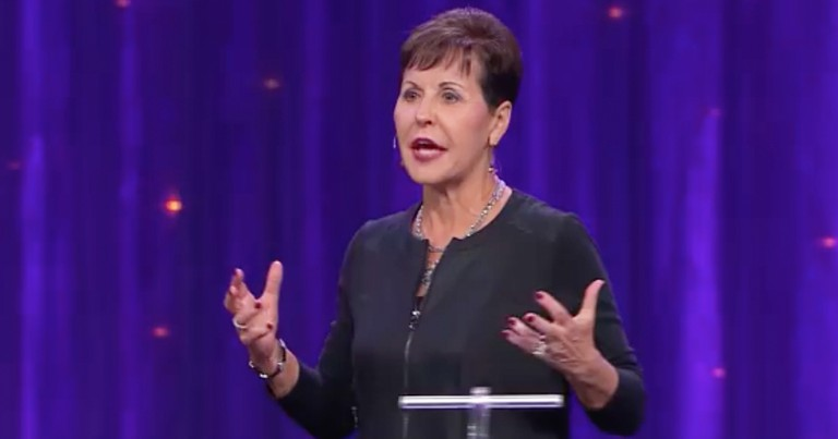 Joyce Meyer Talks Forgiving People When It's Hard