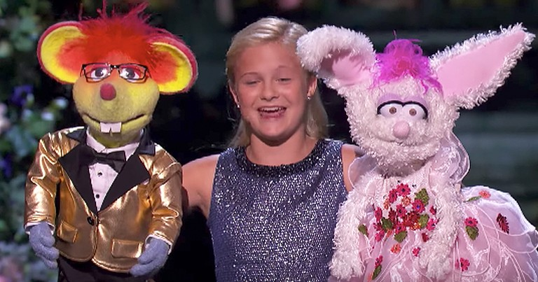 Talented 13-Year-Old Ventriloquist's Beatles Cover Blows Audience Away