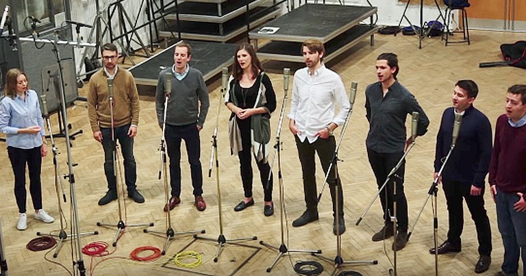 A Cappella Group Performs Beautiful Version Of 'Shenandoah'