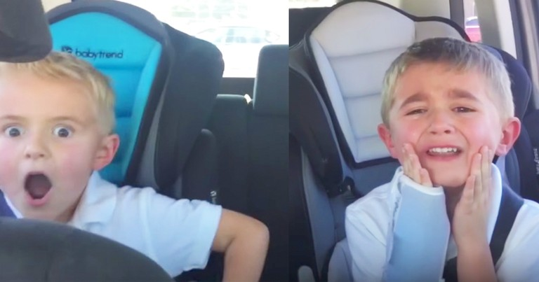 Two Brothers' Extreme Reactions To Mom's Gender Reveal