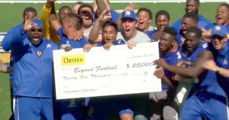Football Coach's Viral Dance Moves Win Him 25k