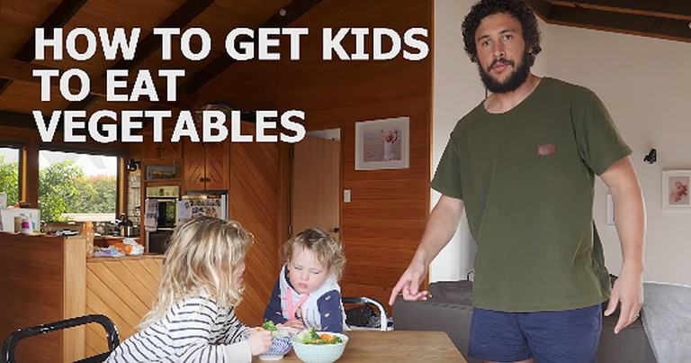 Hysterical Dad Teaches How To Get Kids To Eat Vegetables