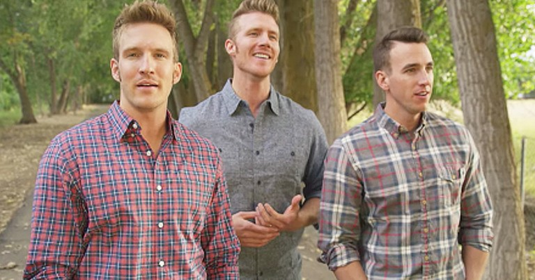 Trio Beautifully Sings Classic Country Song 'God Bless The Broken Road'